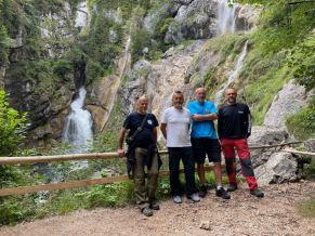 Vodopády u Hallstattu