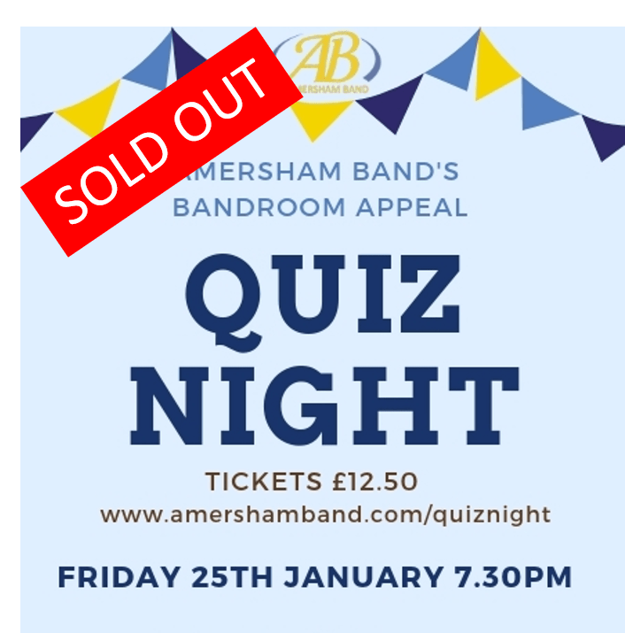 Fundraiser Quiz Night – Sold Out