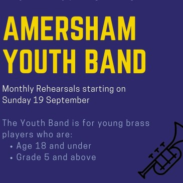 Our new Youth Band starts in September