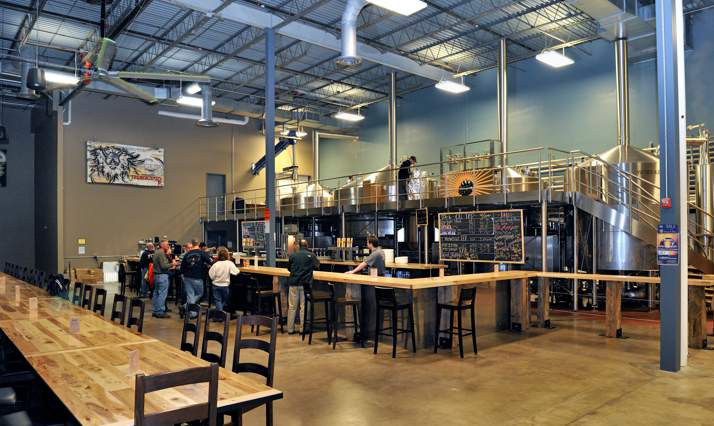 Interior of Troegs Brewing Company