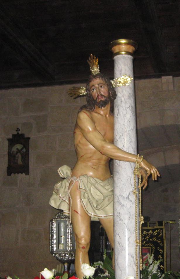 Jesús Amarrado a la Columna