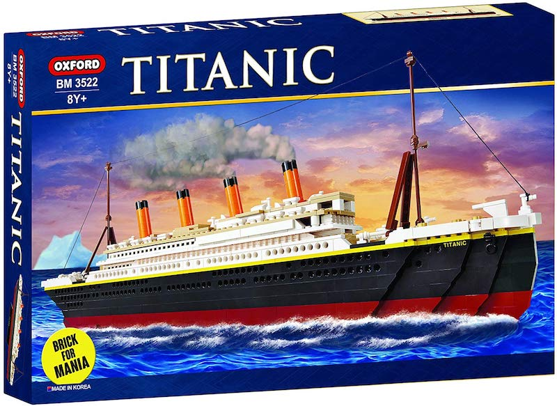 Oxford Titanic Building Block Kit