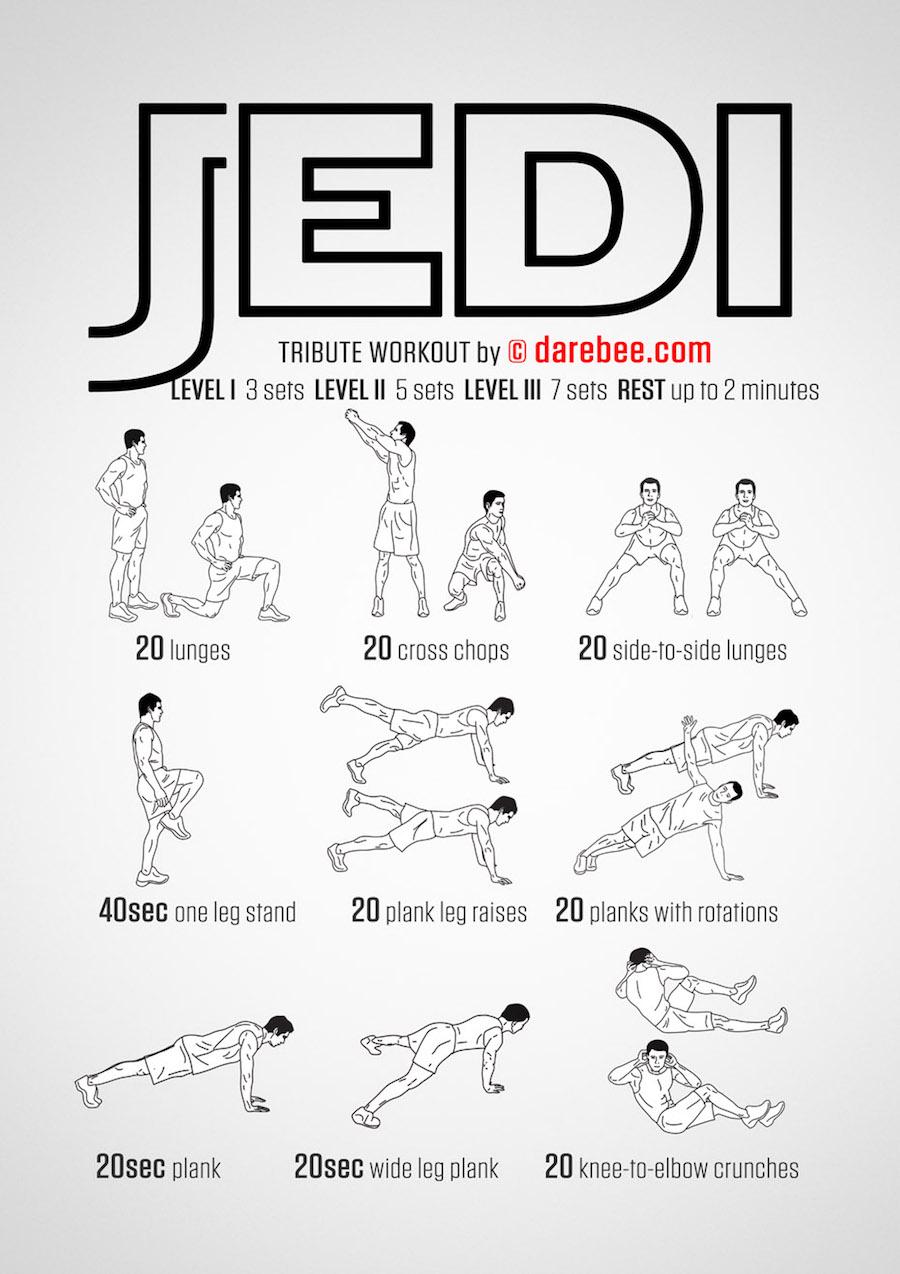 The Jedi Workout