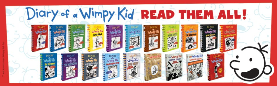 Wimpy Kid Books Complete Series
