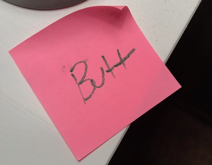 butt-note