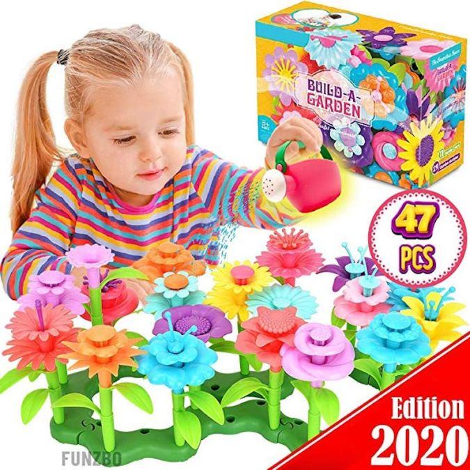 Kids Flower Garden Toy Set