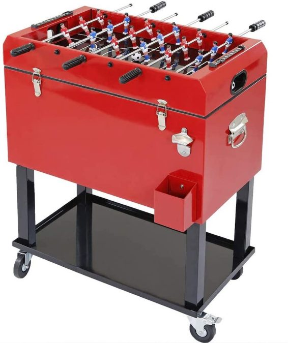 Foosball Tabletop Cooler 1