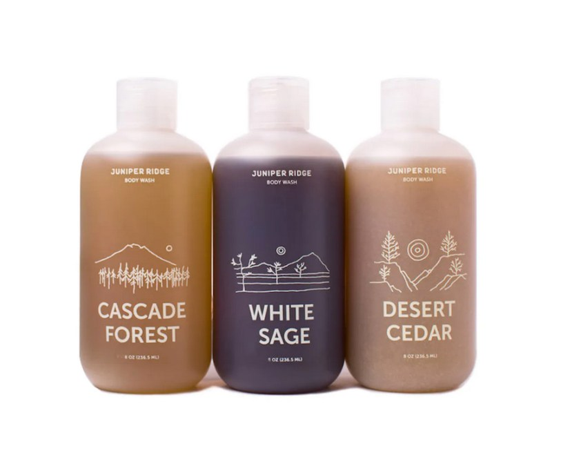 juniper ridge body wash trio