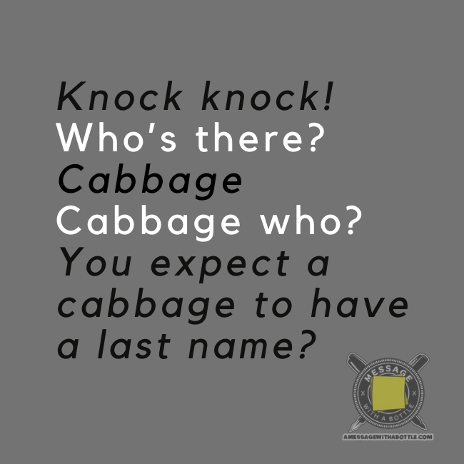 kid's knock-knock joke #2