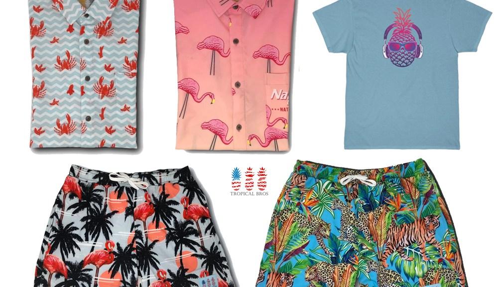 Tropical Bros Dad Clothes