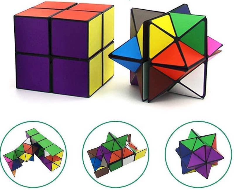 Fidget Euclidean Cube Star Cube Magic Cube Set For Kids.