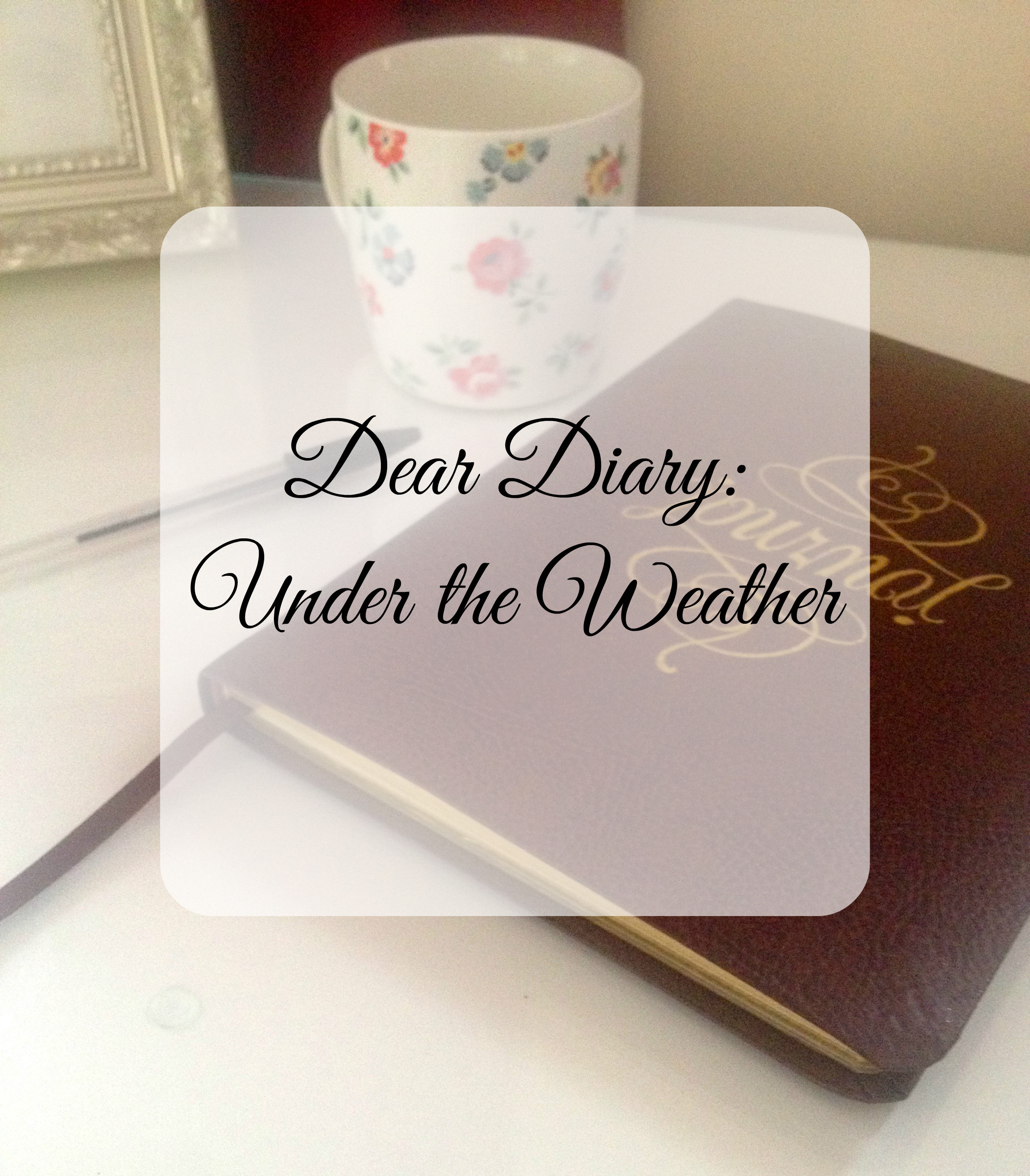 Dear Diary: Under the weather