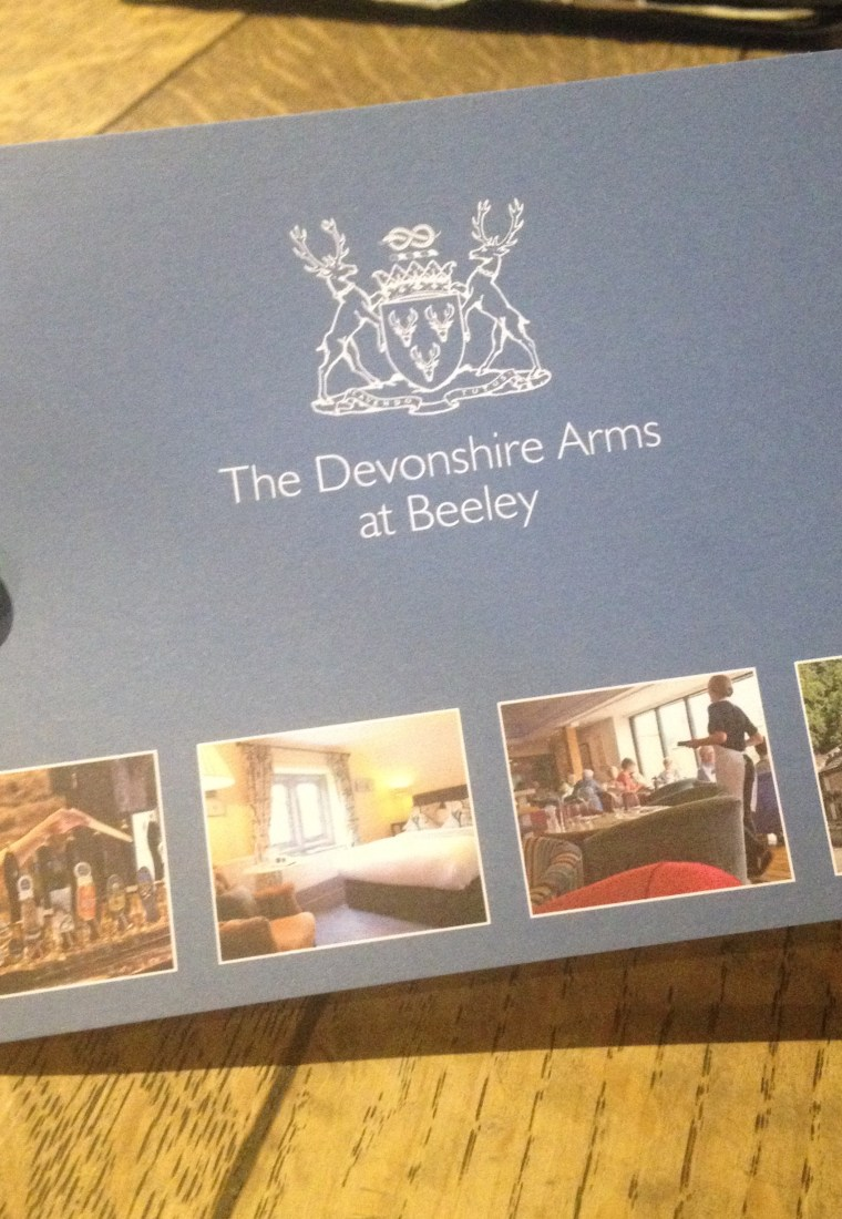 Review: The Devonshire Arms @ Beeley