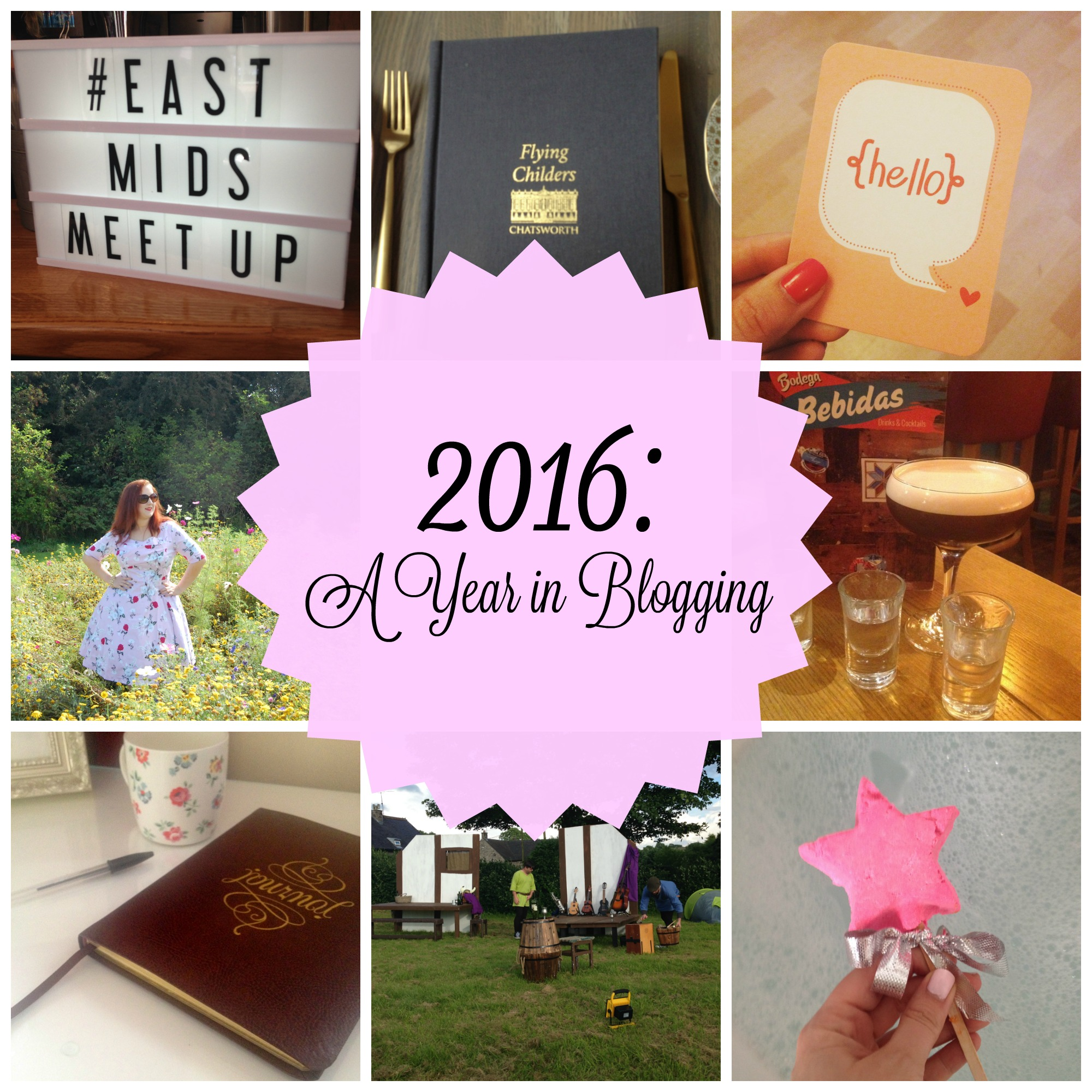 2016 : A Year in Blogging | A Mess In A Dress