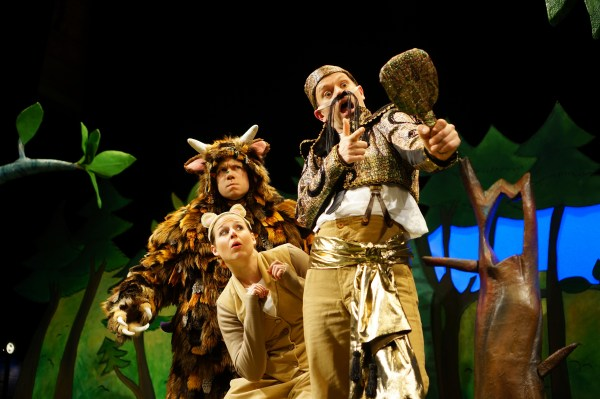 Gruffalo Live Tall Stories Theatre Review Nottingham