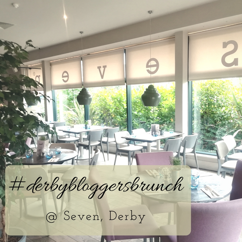 #Derbybloggersbrunch meet-up at Seven, Derby