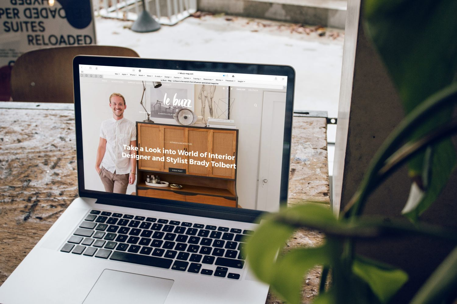 Online Magazine Website Example for Do I Need A Website?