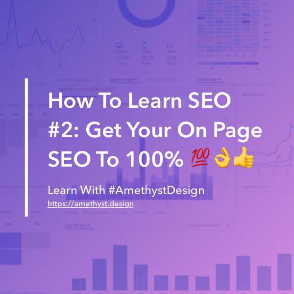 How To Learn SEO #2 Get Your On-Page SEO To 100% Thumbnail