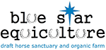 Logo for Blue Star Equiculture