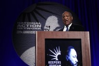 Actor Cosby speaks at the National Action Network's 20th annual Keepers of the Dream Awards gala in New York