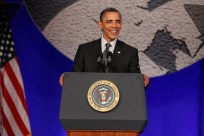 President Obama Speaks At The National Action Network Awards Gala
