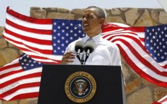 U.S. President Barack Obama delivers remarks on immigration reform at Chamizal National Memorial Park in El Paso