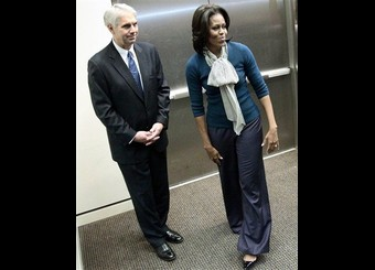 Michelle Obama, Mark Sullivan