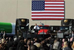 US President Barack Obama speaks about t