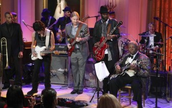 """Artistes perform during the """"In Performance at the White House"""" series in Washington"""