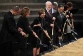 President Obama Attends Nat'l Museum Of African American History And Culture Groundbreaking Ceremony