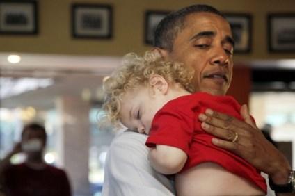 President Obama & Babies1