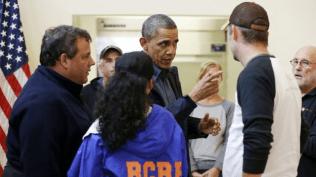 Christie and Obama Tour18