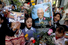 Palestinians celebrate 11