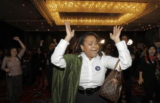 Supporters celebrate Obama8