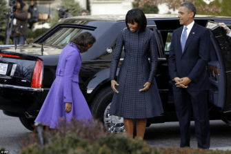 First family on their way to Church12