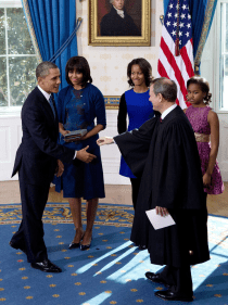 Potus takes the oath of office 25