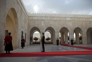 Potus arrives in Jordan8