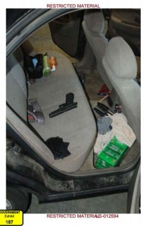 Agent Brittany Burke, who examined #DylannRoof's car found this