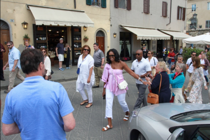 Michelle Exploring Italy 16