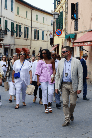 Michelle Exploring Italy 20