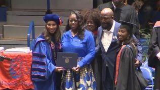 Trayvon Martin awarded degree 2