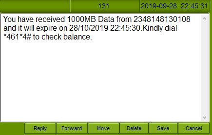 mtn data plan notification 2