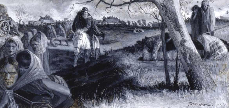 Тропа слез 1830 г. Этническая чистка и депортация американских индейцев