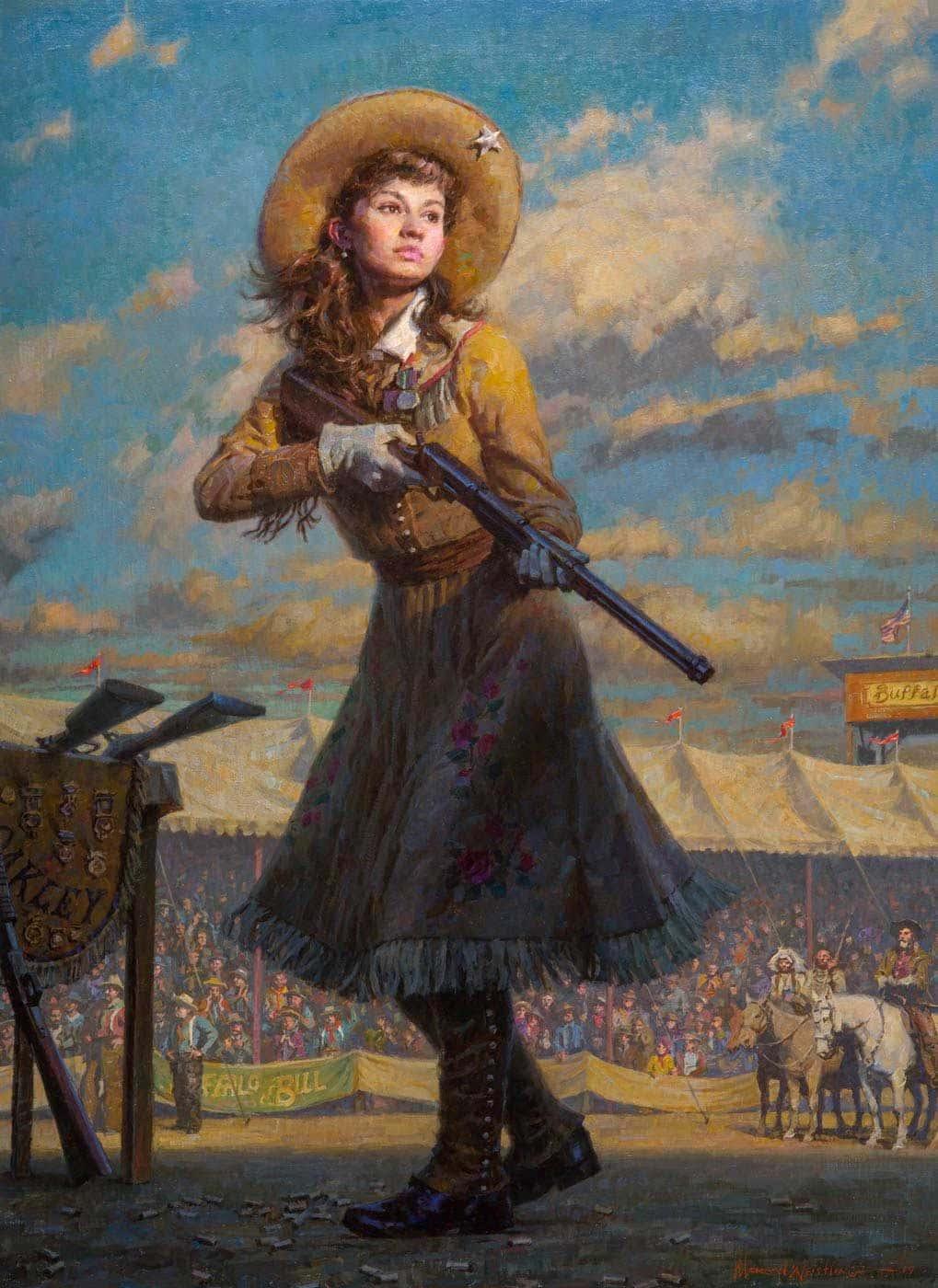 Энни Окли. Первая в Америке суперзвезда женского пола. Ч.1 Детство