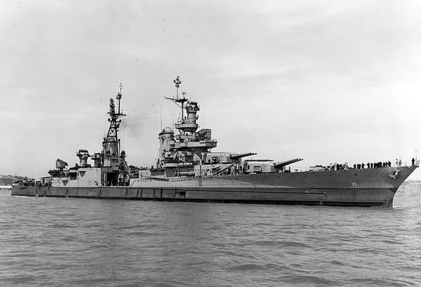 Трагедия крейсера Indianapolis в 1945 году. Свидетельство некомпетентности ВМС США