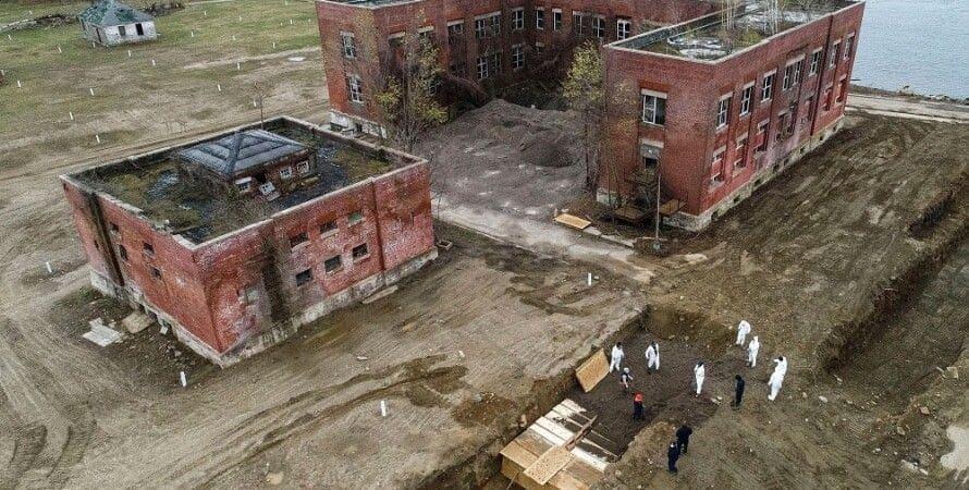 Остров Харт (Бронкс). Братская могила самого богатого города в мире