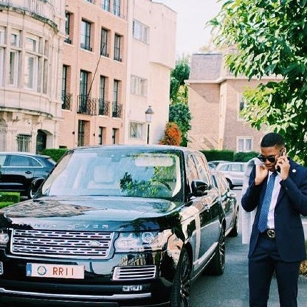 Rumour Alert: Son of ex-President Mahama gets new car & customized Nike as birthday gift