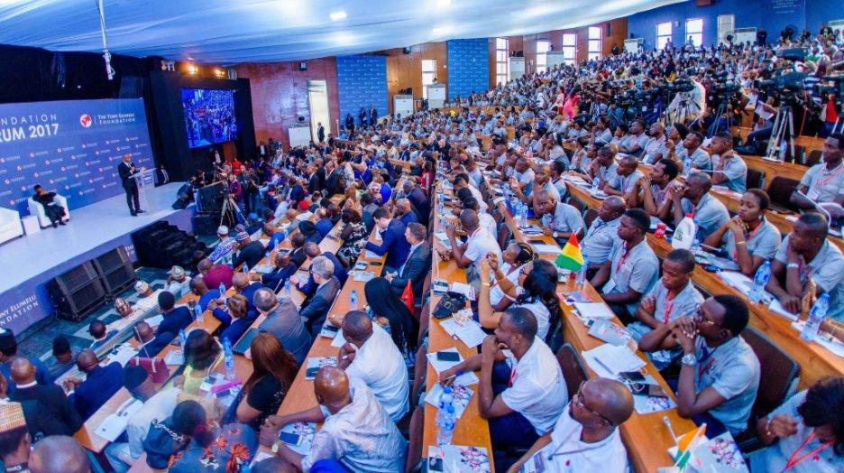 The Tony Elumelu Foundation  cohorts