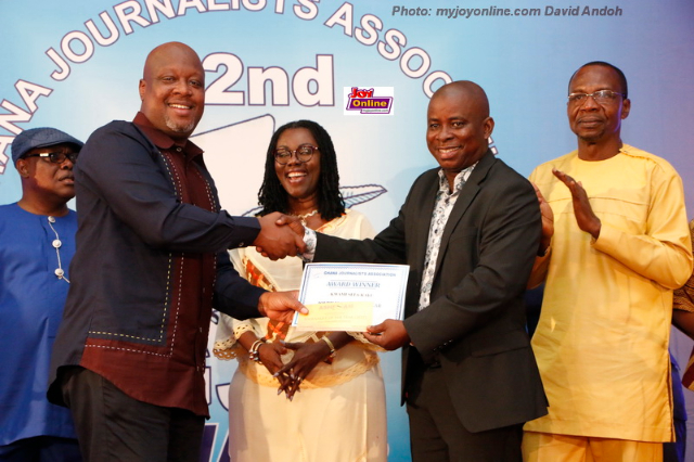 Kwami Sefa Kayi  crowned Ghana's Journalist of the Year
