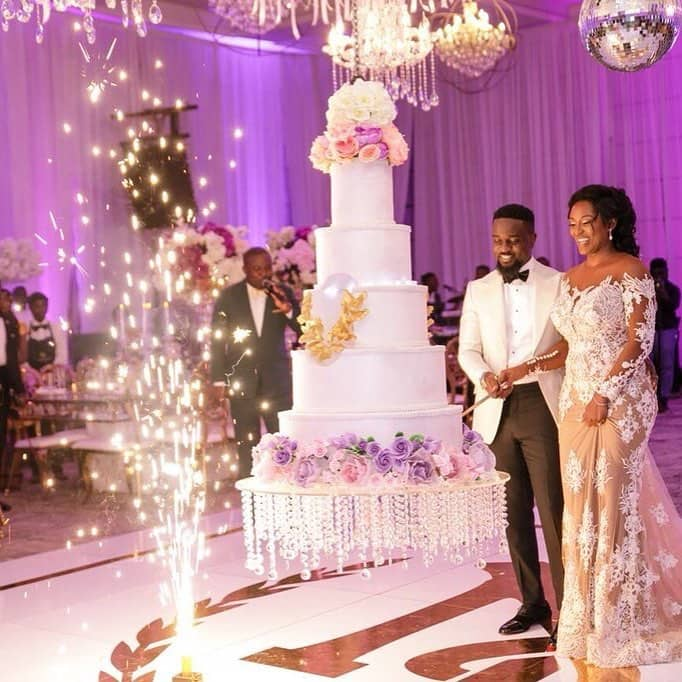 Weddings Pictures Gallery: Exclusive: Official Photos From Sarkodie And Tracy's White